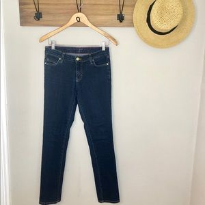 Kate Spade play hooky skinny jeans